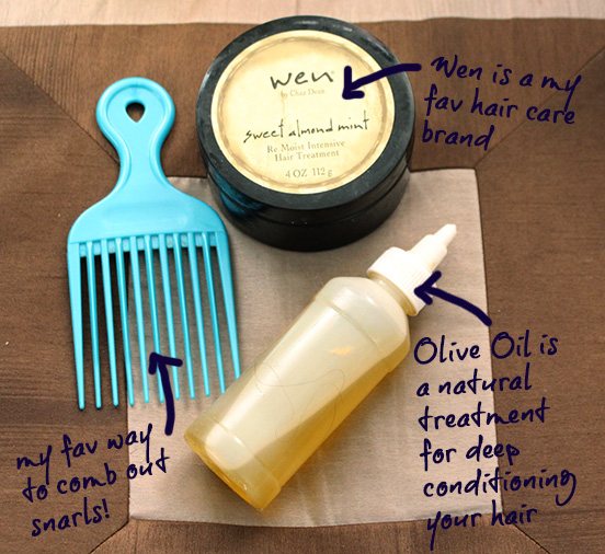 deep hair conditioning treatment