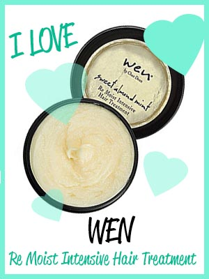 wen re moist intensive hair conditioner for bleached damaged hair