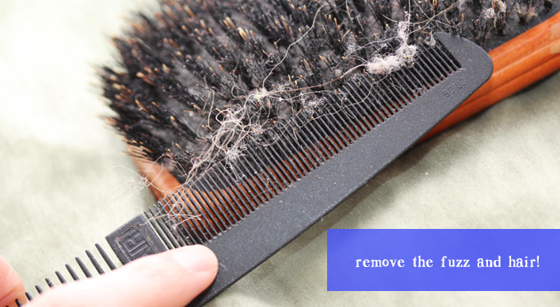 how to clean your hair brush copy How to Properly Clean your Hair Brush