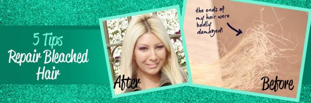 How to Repair Bleached Damaged Hair Fast!