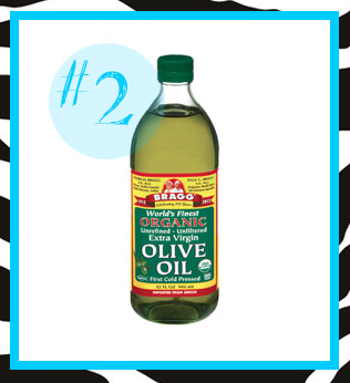 olive oil for bleached hair