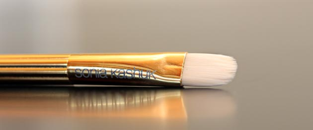 sonia kashuk synthetic conceal brush review Sonia Kashuk Makeup Brush Review   10 Brush Review Gold Limited Edition