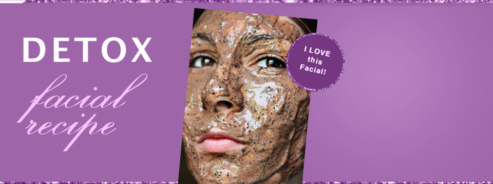 Detox Facial Recipe Skin Care Detoxifying, De-Puffing Mocha Mask Recipe