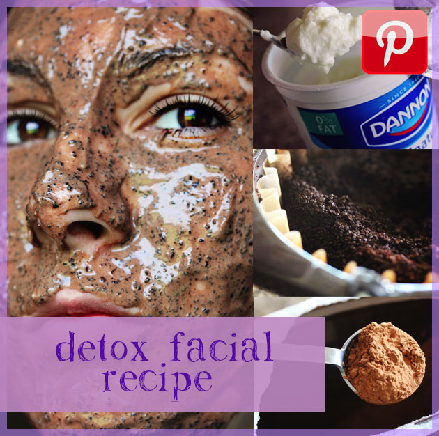 detox facial recipe share