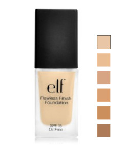 Elf Studio Flawless Finish Foundation swatches 242x300 Elf Studio Flawless Finish Foundation Review E.L.F. Cosmetics