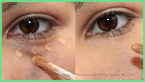 NARS Radiant Creamy Concealer before after