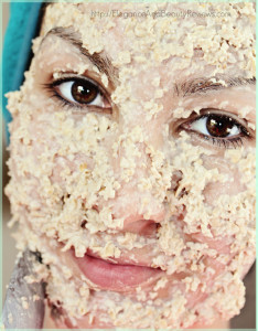best oatmeal facial