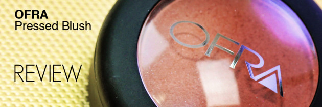 OFRA Pressed Blush Review – Winter Rose + Swatches