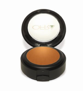 OFRA Pressed Blush - Format Looks like a brown bronzer with warm raw sienna undertone