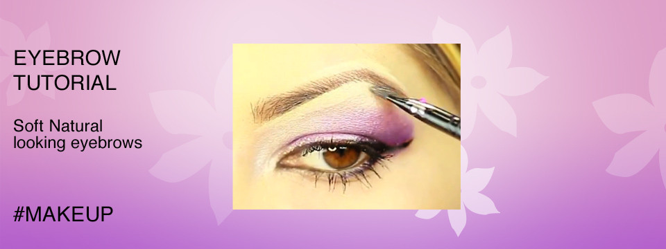 Soft Eyebrows using Eyeshadow Tutorial