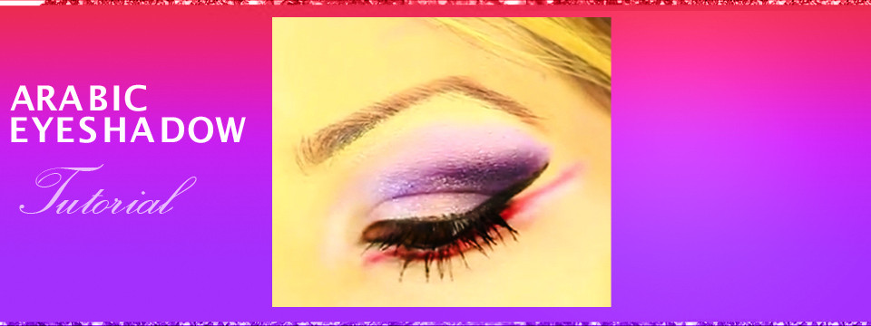 Arabic Eye Makeup Tutorial  – Purple and Pink Eyes