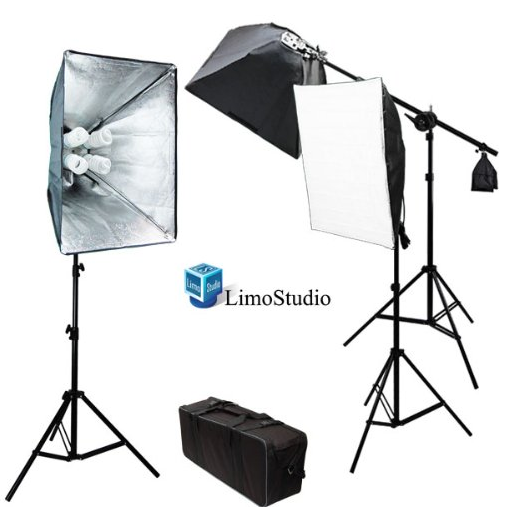 Soft box light kit