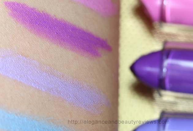 Highly pigmented with a white base