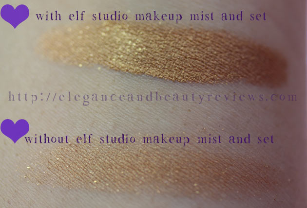 elf Studio Makeup Mist and Set Review