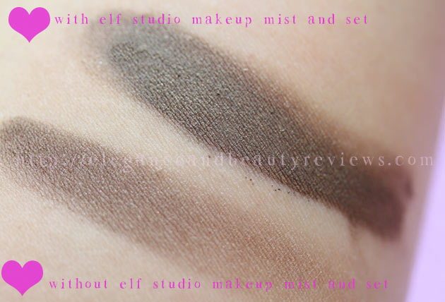 Makes any color look super pigmented!