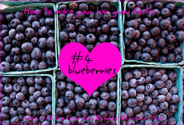 Foods that make your hair grow faster - #4 Blueberries
