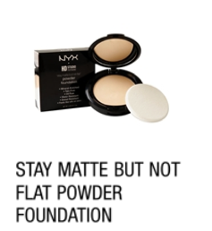 NYX Stay Matte but not Flat Powder Foundation Review