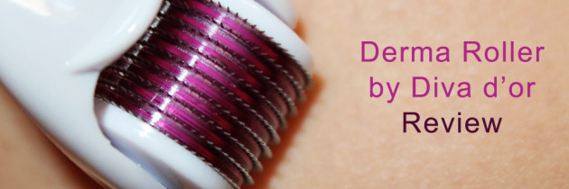 Derma Roller by Diva d'or Review + First Impression