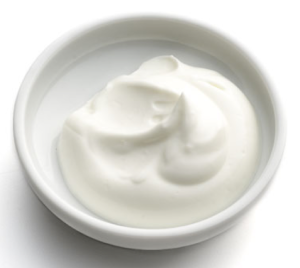 yogurt for treating acne