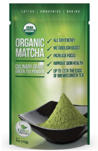 Matcha Green Tea for healthy skin