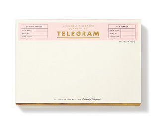 Kate Spade New York Notepad - Telegram