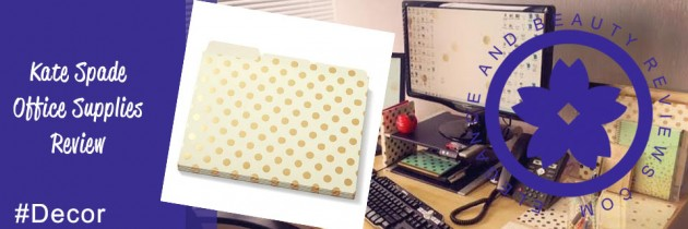 Kate Spade Office Supplies Review + Cute Office Supplies & Ideas