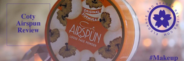 Coty Airspun Loose Face Powder Translucent Review