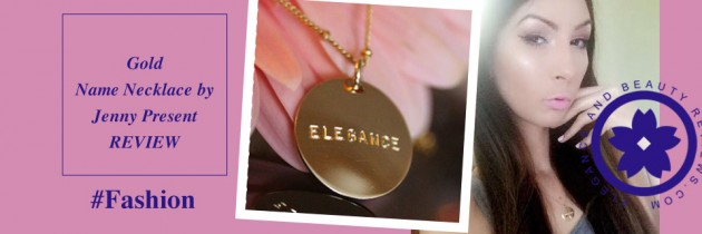 Elegant Gold Name Necklace by Jenny Present – Review