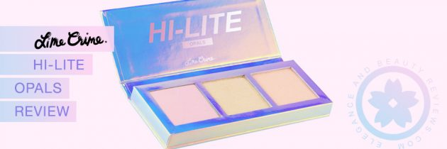 Lime Crime HI LITE Opal Palette Review