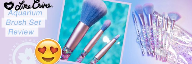 Lime Crime Aquarium Liquid Glitter Makeup Brush Review
