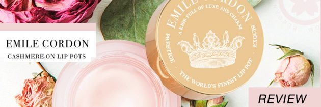 Emile Cordon Cashmere-On Lip Pot Review