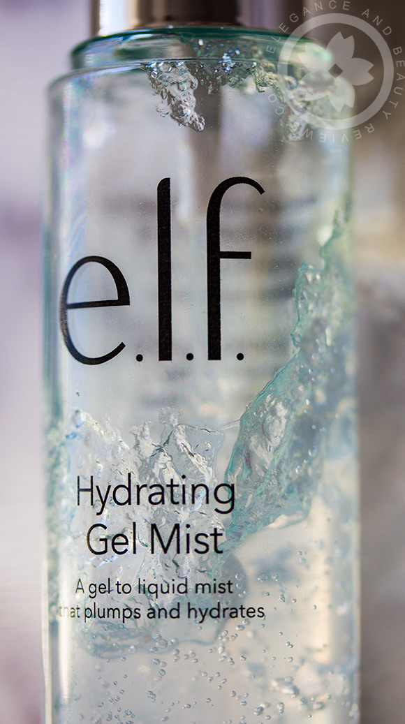 elf hydrating gel mist review
