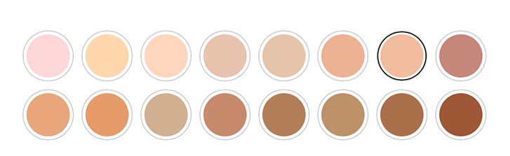 Rimmel Stay Matte Liquid Foundation shades