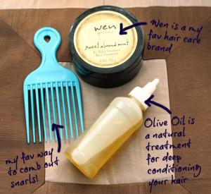 deep hair conditioning treatment