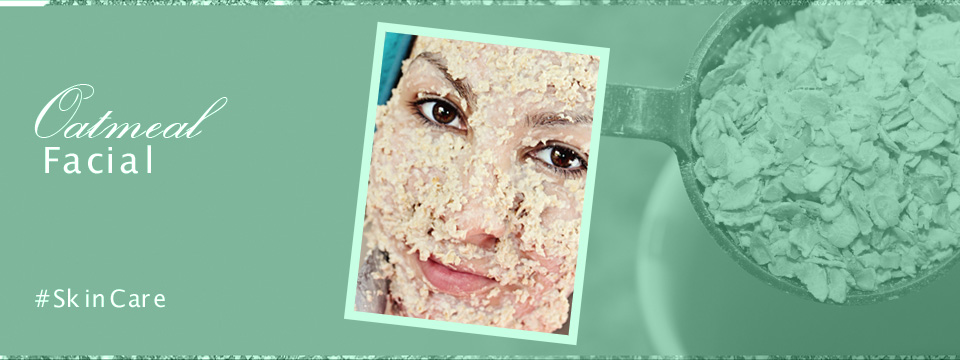 Oatmeal Face Mask for Irritated Skin