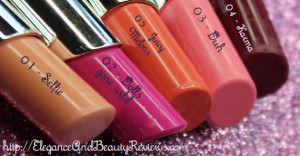 Glamour Dolls Lip Cream Review- Swatches