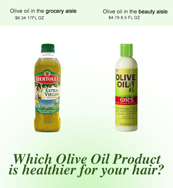 Can Cooking Olive Oil be used for Skin and Hair? Edible cooking oil?