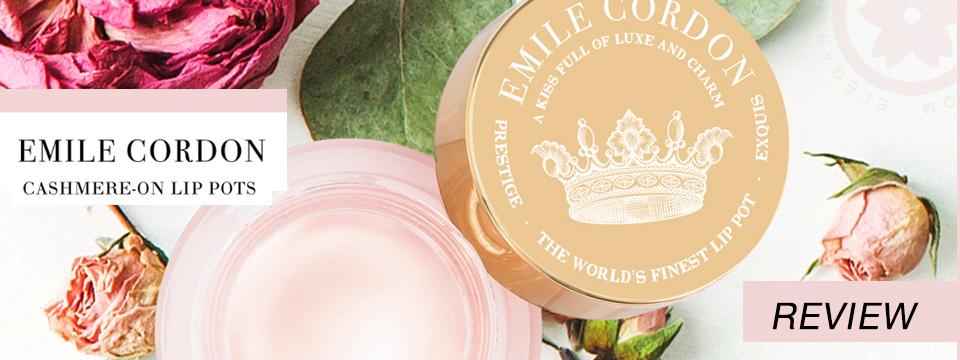 emile cordon cashmere-on lips pots review