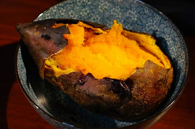sweet potatoes for younger skin
