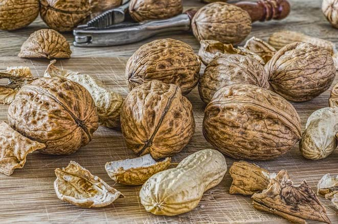 walnuts for younger skin