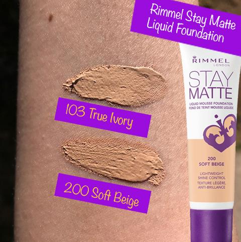 Rimmel Stay Matte Liquid Mousse Foundation Soft Beige