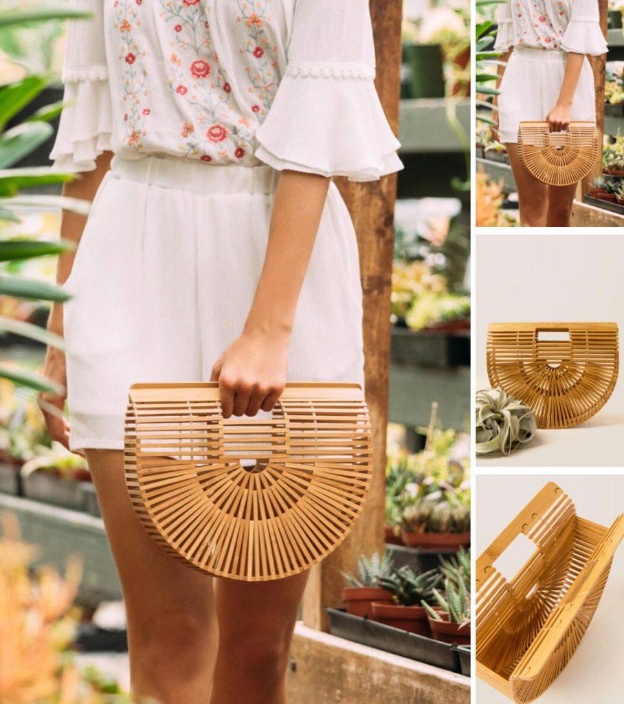 wooden purse trend