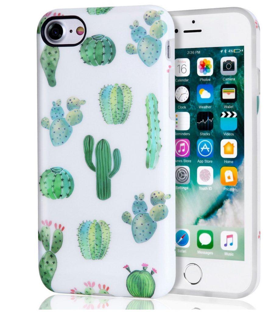 cacti succulent phone case