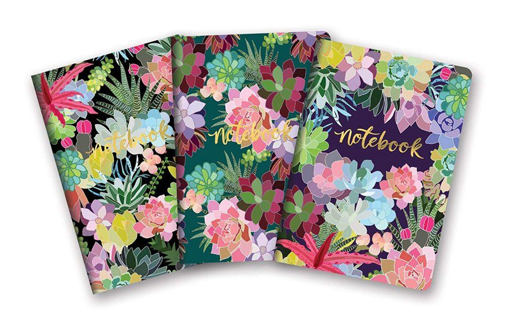 succulent notebooks