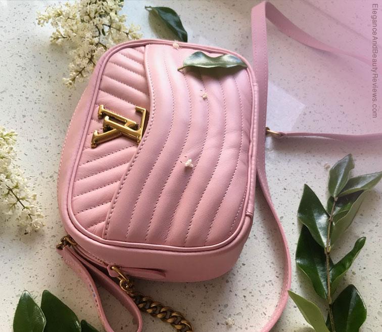 LV smoothie pink camera bag